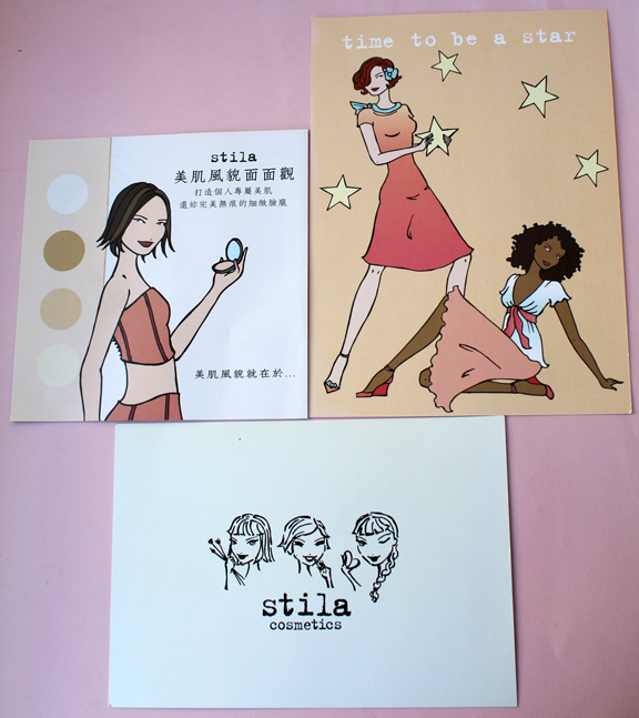 Stila postcards, late 1990s/early 00s
