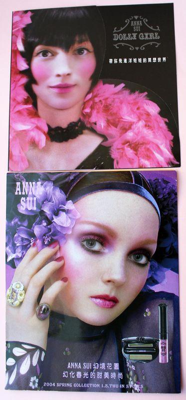Anna Sui postcards