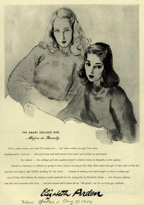 Elizabeth Arden ad, 1944