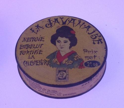 Vintage shampoo box