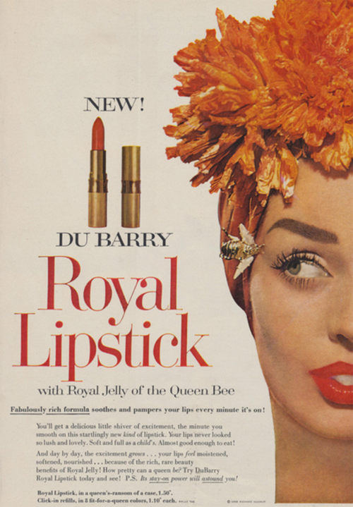 Du Barry ad, 1958