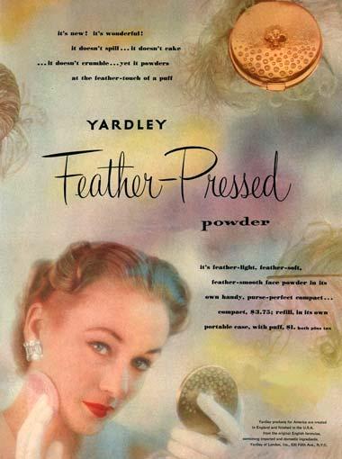 Yardley ad, 1951