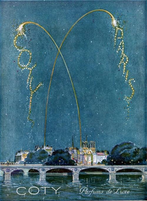 Coty Paris ad, 1925