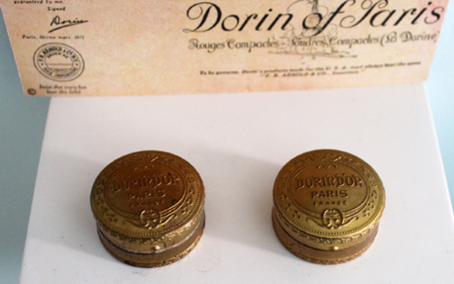 Dorin of Paris powder boxes