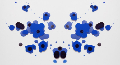 AnOther Magazine - Rorschach tests made with makeup