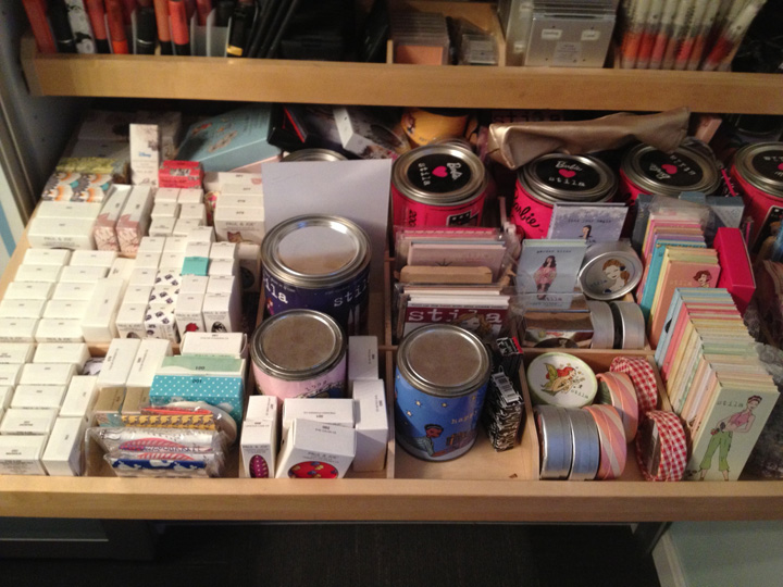 Collection storage drawer - before