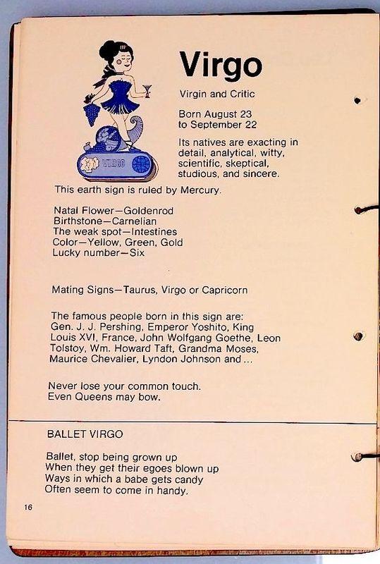 Stanley MacNiel, Zodiac Cocktails