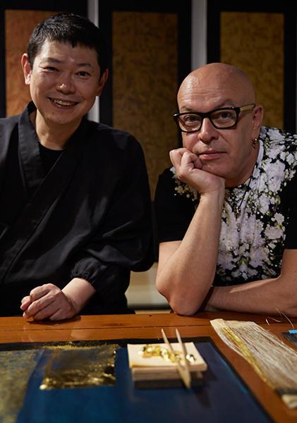 Hiroto Rakusho and Nicolas Degennes