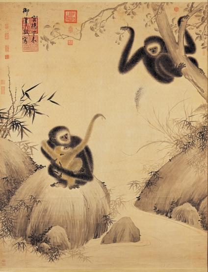 Gibbons at Play, 1427