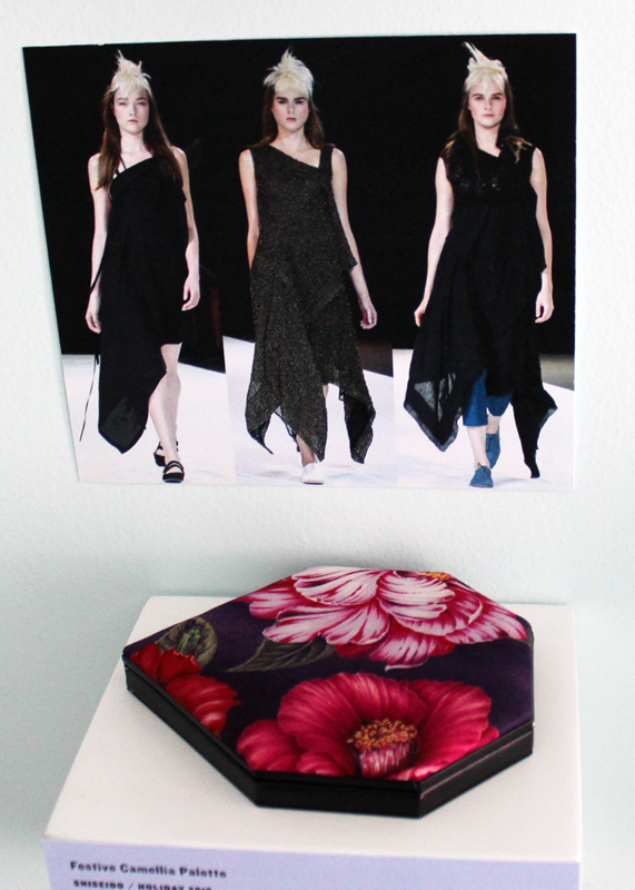 Shiseido Festive Camellia palette