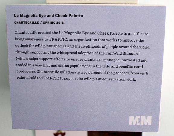 Chantecaille magnolia palette