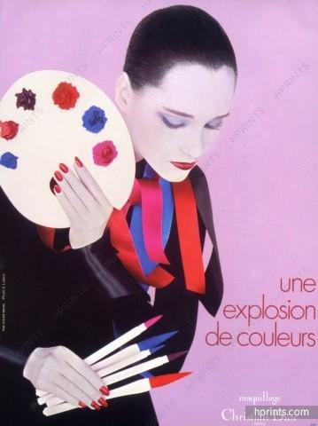 Dior-1980-nail-polish-lipstick-ad