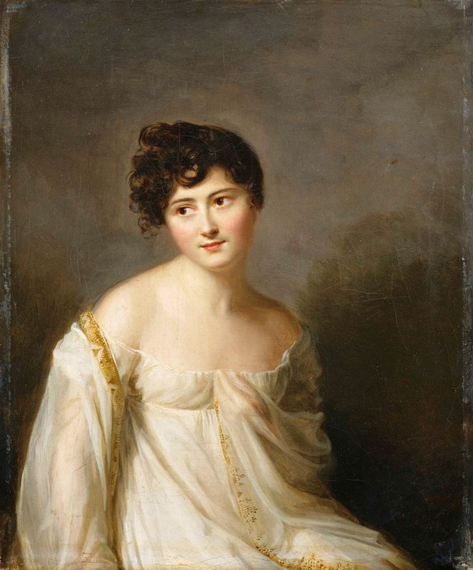 Juliette Récamier by Massot, 1807