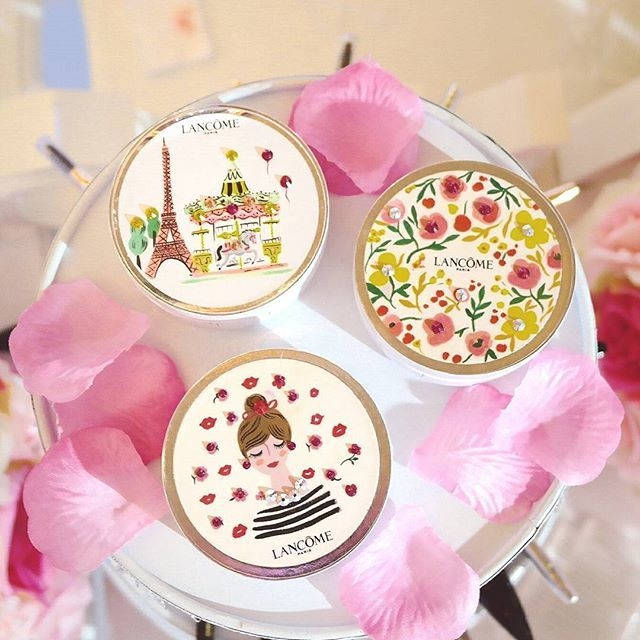 Lancome cushion compacts - designs by Ayang Cempaka