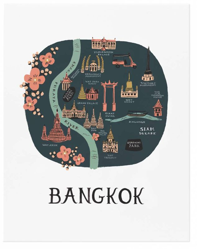 Bangkok print by Rifle Paper Co.