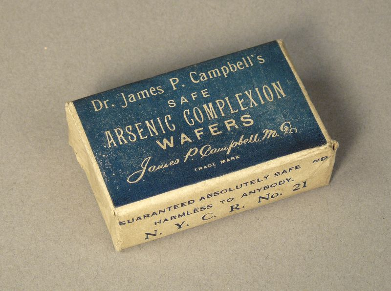Safe Arsenic Complexion Wafers, ca. 1890