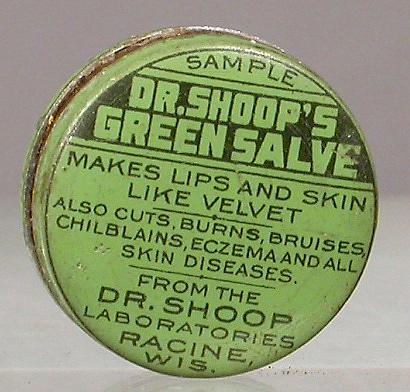 Dr. Shoop's Green Salve, ca. 1920