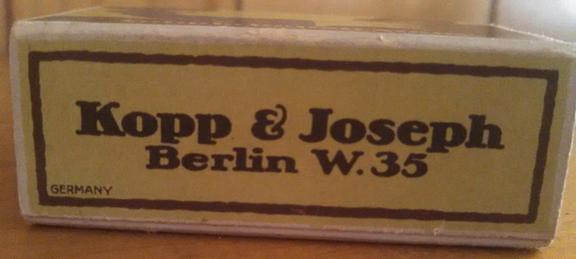 Kopp & Joseph Youpla nail buffing stone box