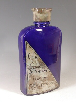 Karen Shapiro - Bourjois Evening in Paris talc bottle