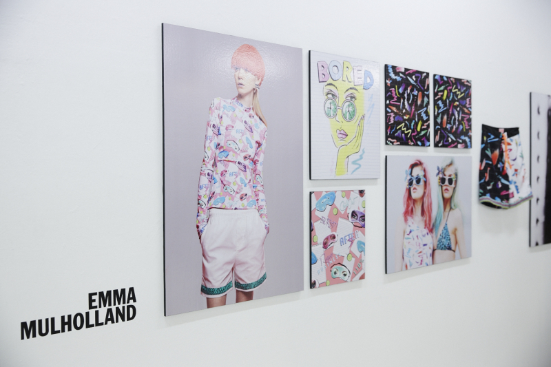 Emma Mulholland - installation view