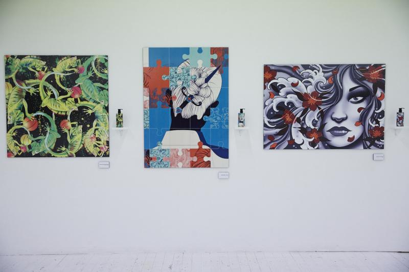 Shu Uemura Art Series installation view