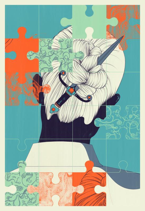 Andrew Archer - Shu Uemura print