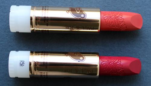 Paul & Joe fall 2016 lipsticks