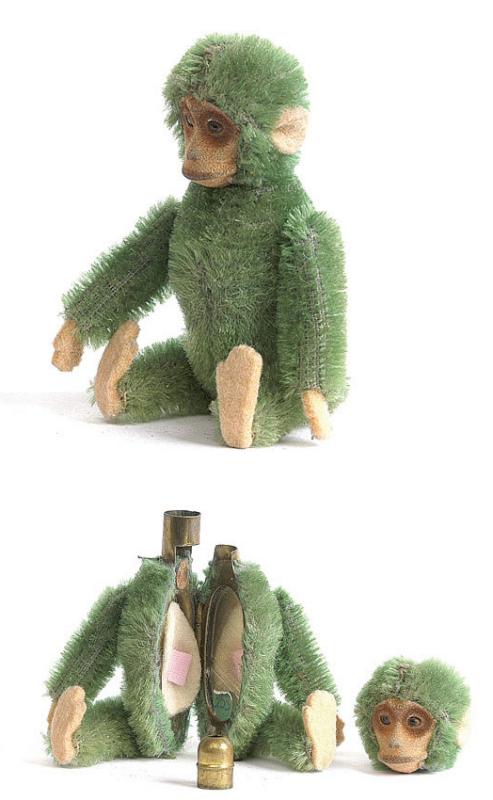 Vintage Schuco monkey