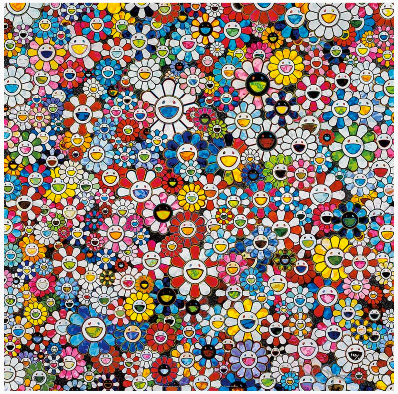 Takashi Murakami, Future Will Be Full of Smile! For Sure! 2013