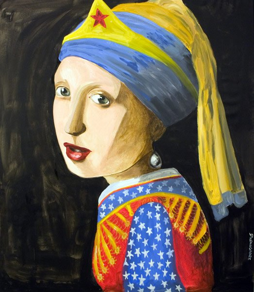 Ashley Longshore, Girl with a Pearl Earring