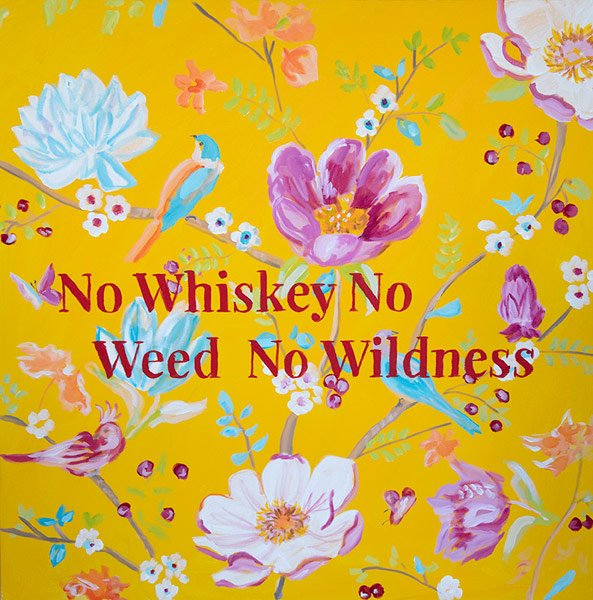 Ashley Longshore, No Whiskey No Weed No Wildness