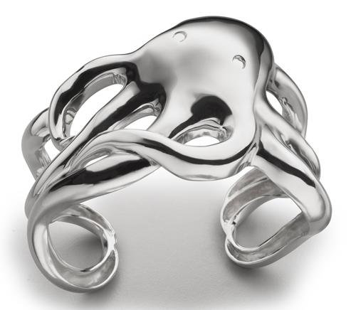 Monica Kosann octopus cuff bracelet