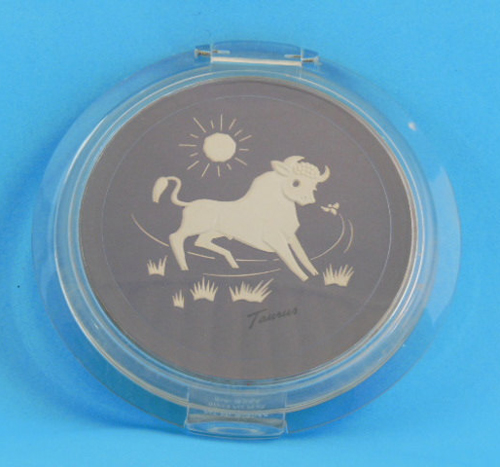 Ziegfeld Zodiac Girl compact - Taurus