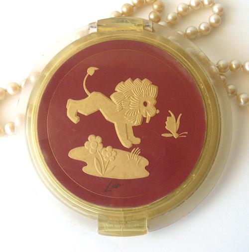 Ziegfeld Zodiac Girl compact - Leo