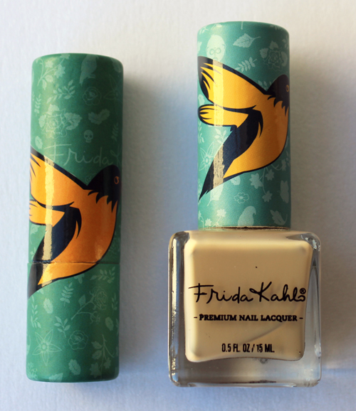 Republic Nail Frida Kahlo lipstick and nail polish