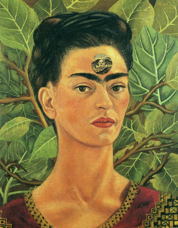 Frida Kahlo, Thinking of Death, 1943