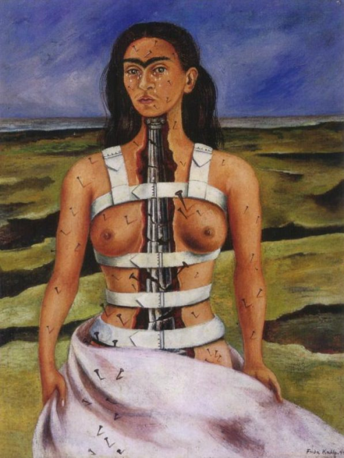 Frida Kahlo, The Broken Column, 1944