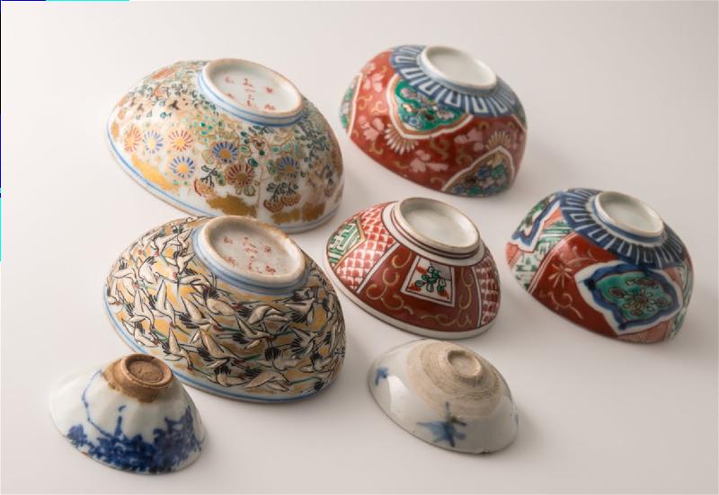 Beni bowls, Isehan Honten Museum of Beni
