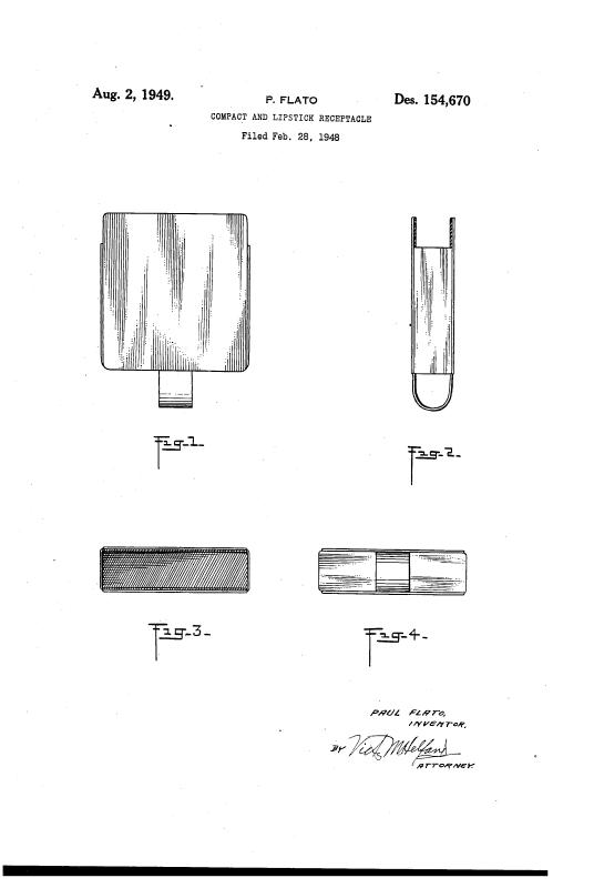 Paul Flato compact patent