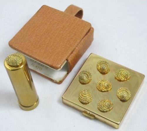 Paul Flato shell compact