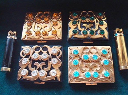 "Paul Flato ""crown jewels"" compacts"