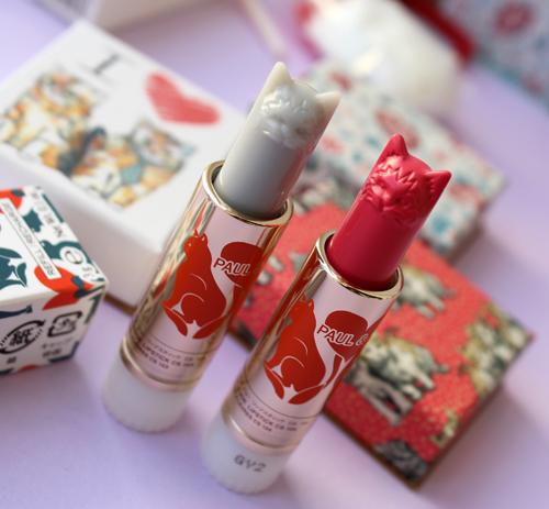 Paul & Joe spring 2017 lipsticks