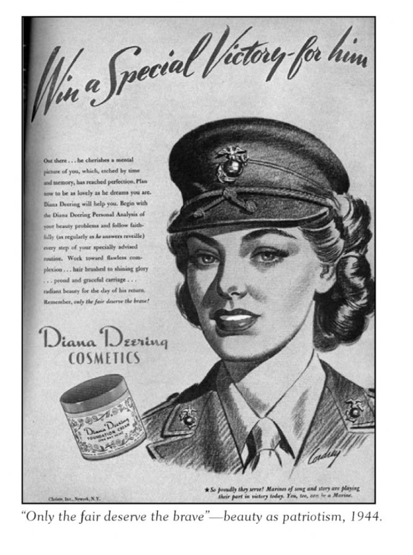 Diana Deering ad, 1944