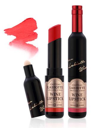 Chateau Labiotte wine lipstick