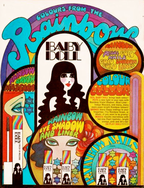 1968 Baby Doll Cosmetics ad
