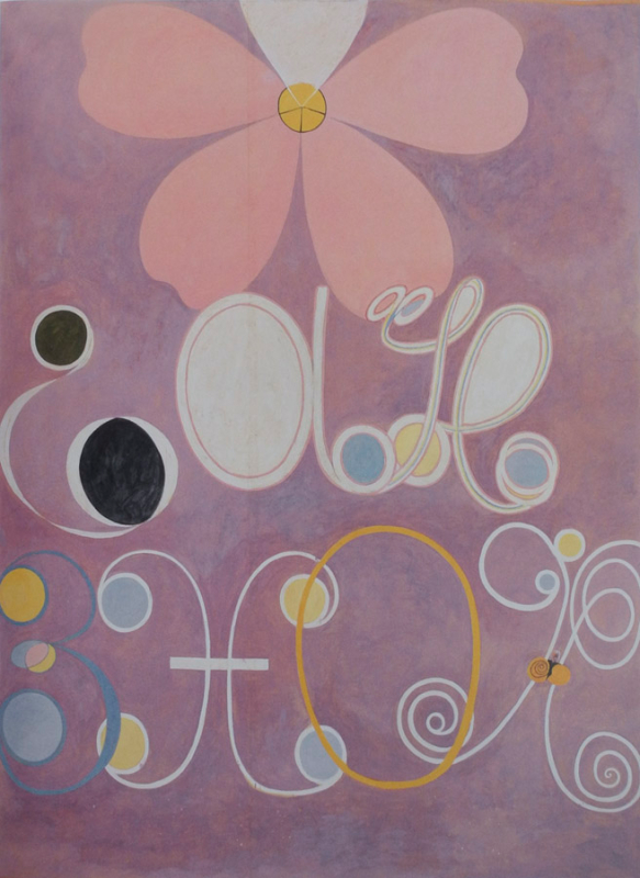 The Ten Largest, No. 5, Adulthood, Group IV - by Hilma af Klint (1907)