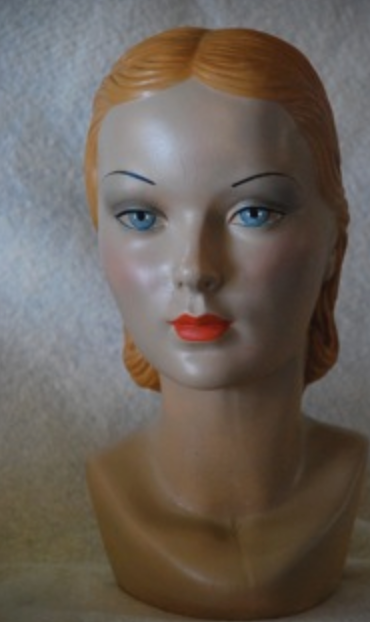 Mary mannequin by Marge Crunkleton