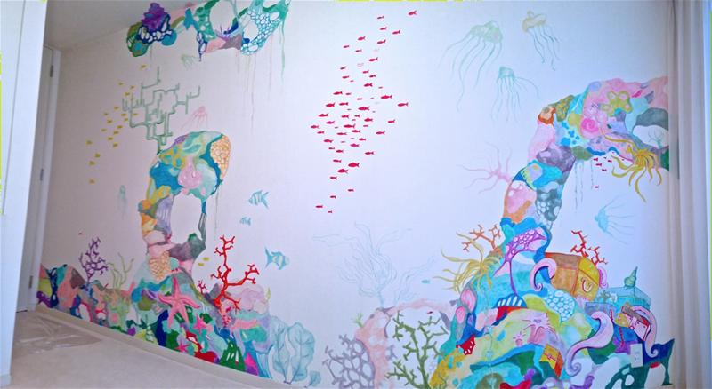 Przemek Sobocki - wall mural
