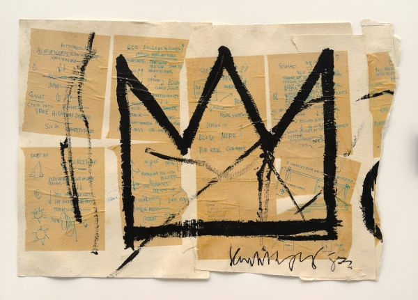 Jean-Michel Basquiat, Untitled (Crown), 1982