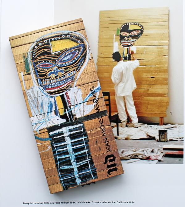 Urban Decay x Basquiat Gold Griot palette